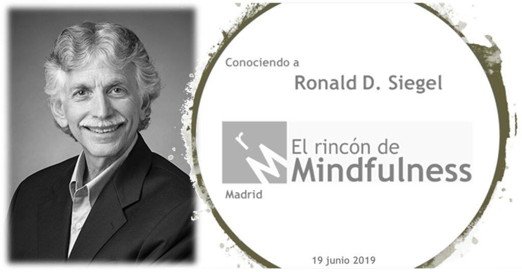 Ronald Siegel en El Rincón de Mindfulness en Madrid